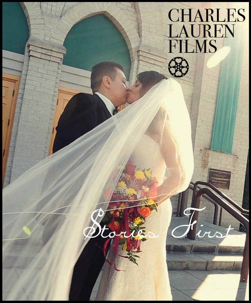 Charles Lauren Films Downey wedding videography, happy brides!