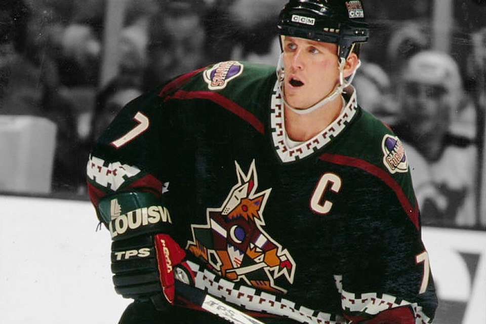 coyotes throwback jersey