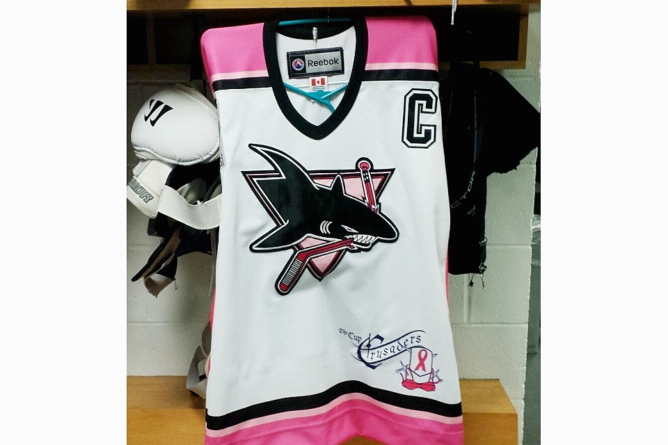 Photo from Worcester Sharks via Facebook