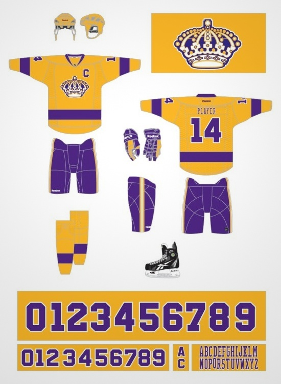 This is what the Kings' new retro uniforms will look like next season.