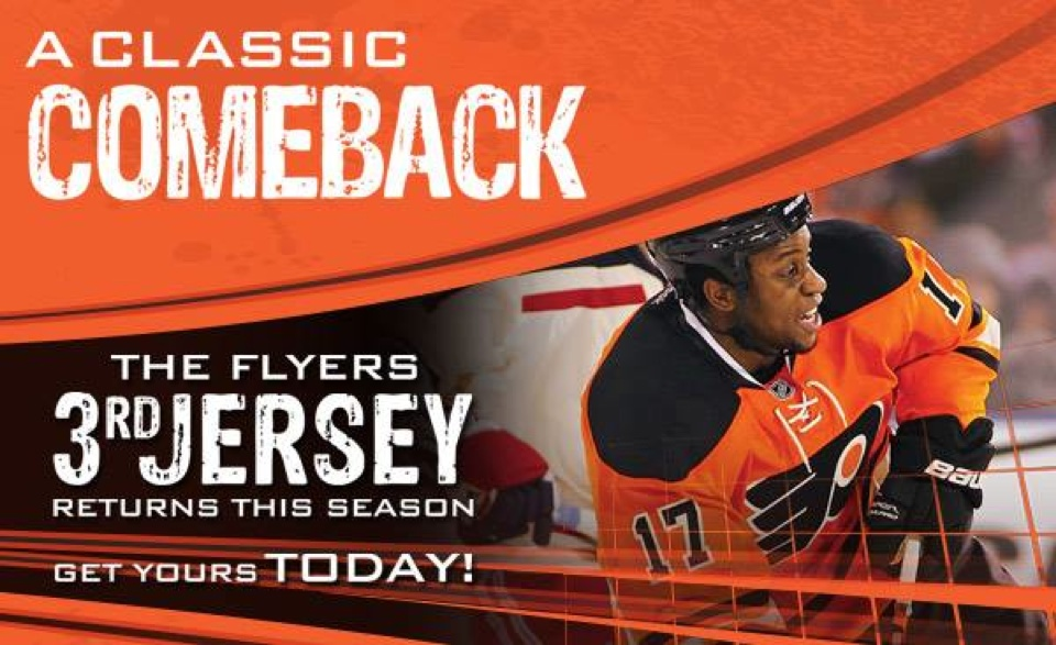 flyers 3rd jersey 2015