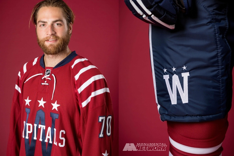 best sneakers 4fa57 a47ae Capitals unveil all new 2015 NHL Winter Classic uniform ...