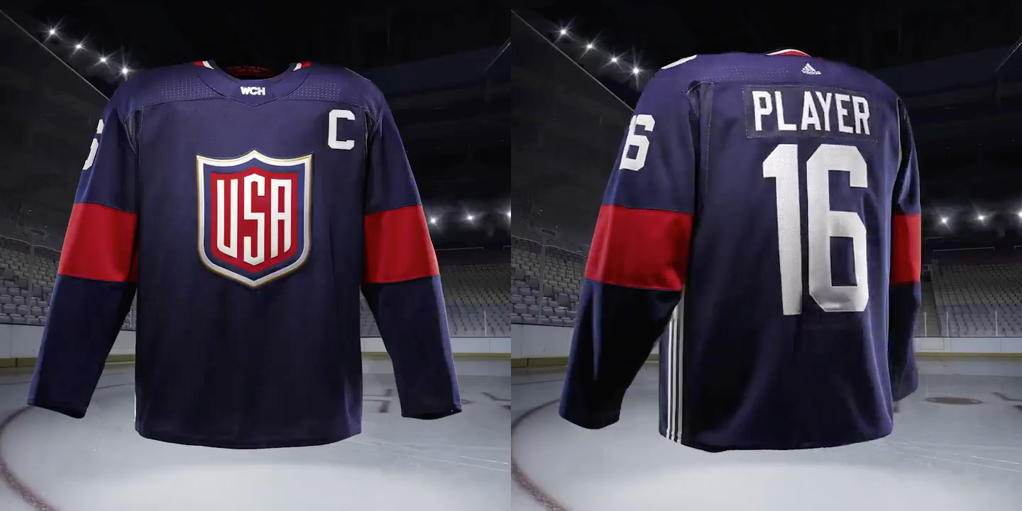 adidas world cup of hockey jerseys