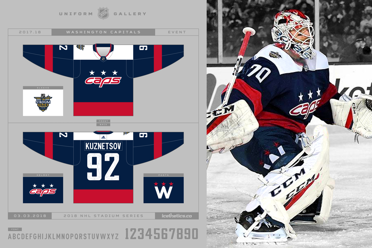 quality design 71a5b 76319 The 7: Special event jerseys in the 2017-18 NHL season ...