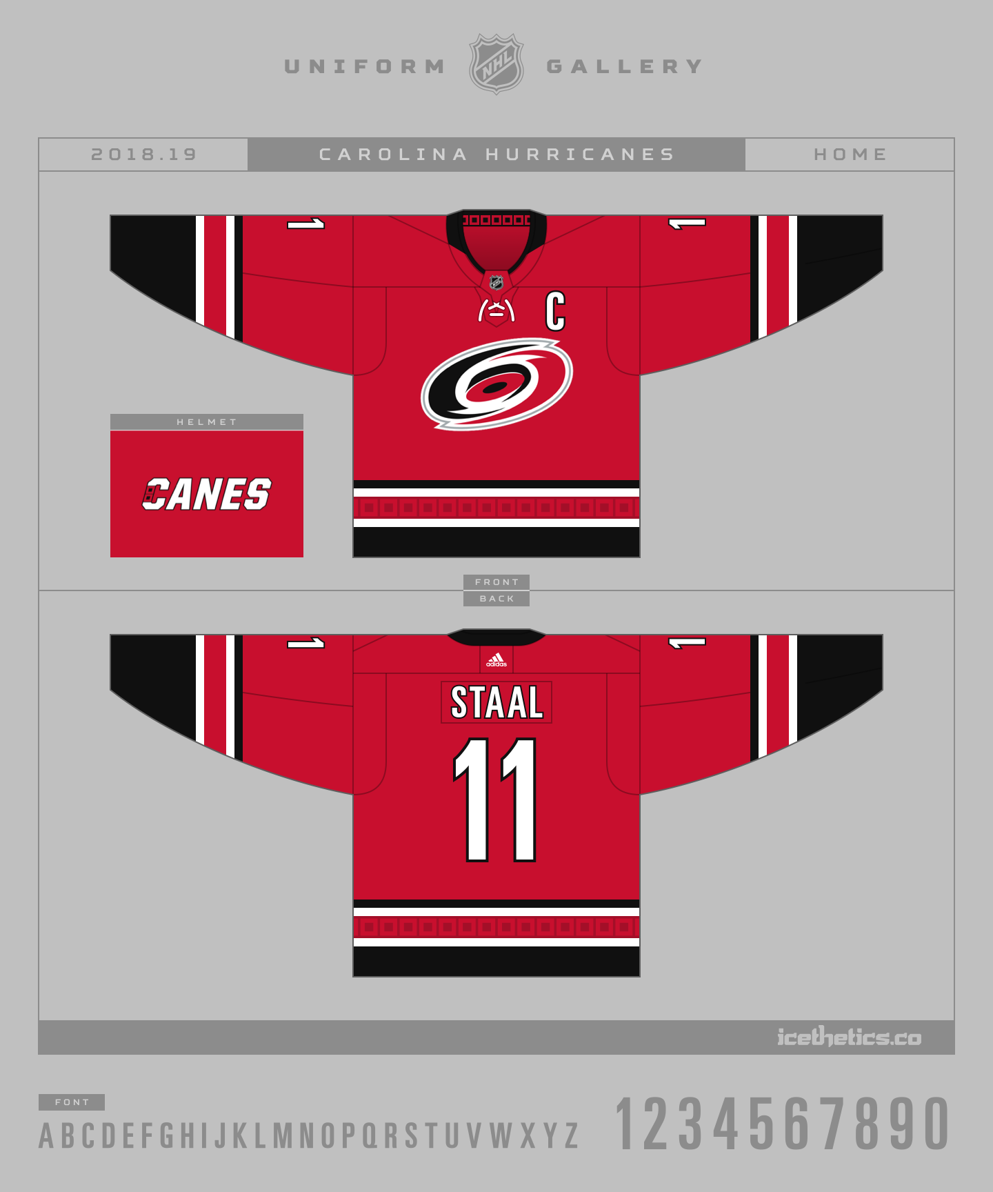 online store a7a15 e9d12 Hurricanes 'Take Warning' with reveal of new third jersey ...