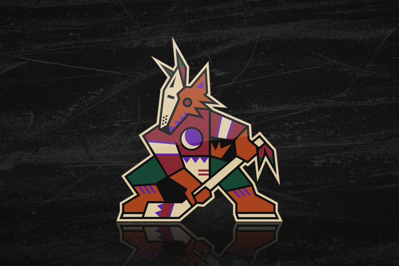 watch 0ce8c 98260 Coyotes excite fans with throwback third reveal! — icethetics.co