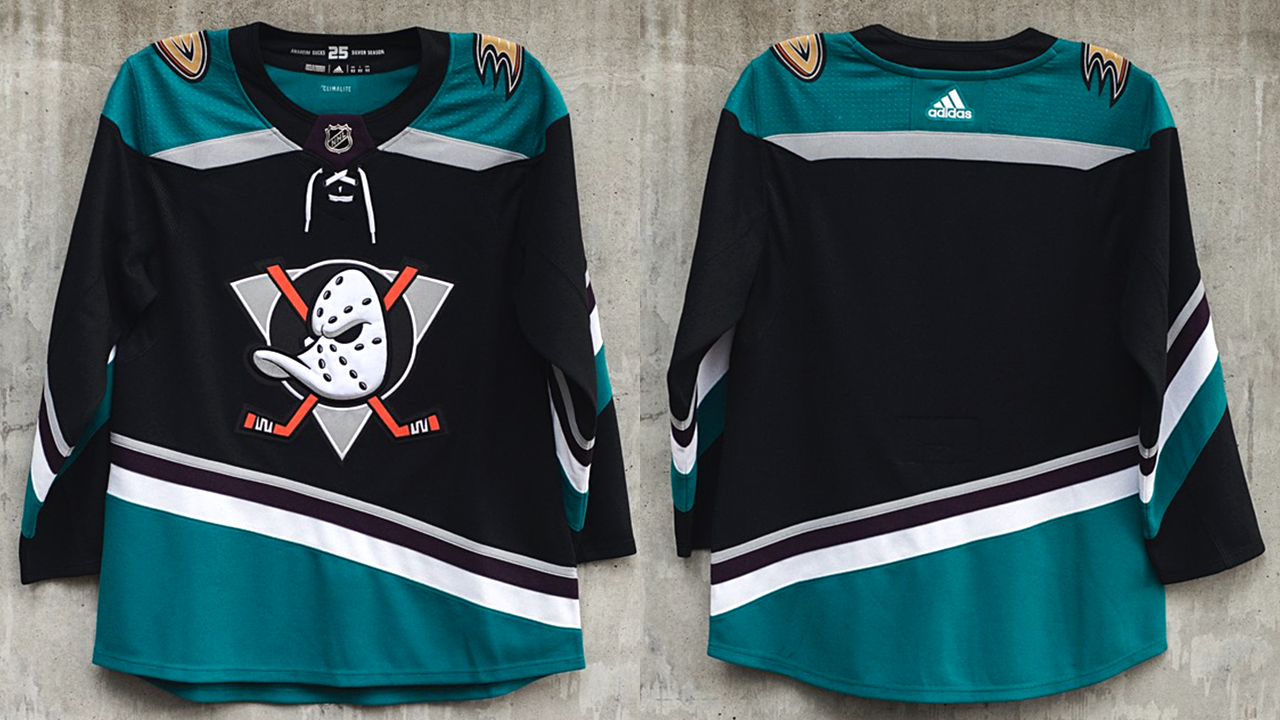 big sale 0939a 103aa Ducks unveil new throwback-inspired third jersey — icethetics.co