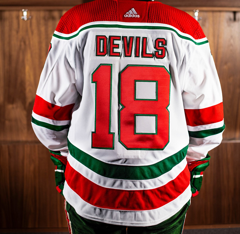 newest 1377f e90aa New Jersey Devils unveil throwback third jersey! — icethetics.co