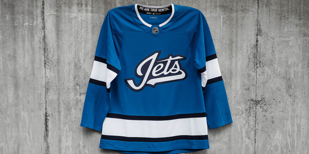new style d2fcb c7c69 Winnipeg Jets officially reveal Aviator third jersey ...