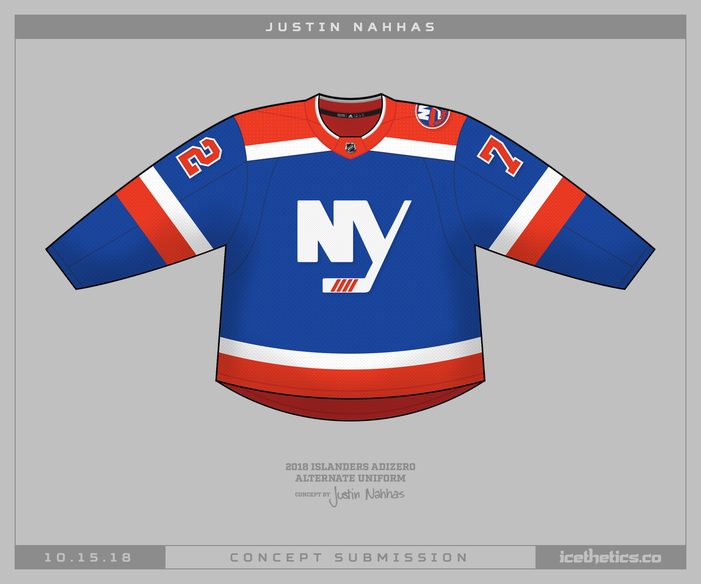 official photos a48bb 72a8f new york islanders — Concepts — icethetics.co