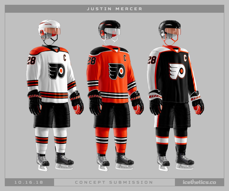 Philadelphia Flyers Concepts Icethetics Co