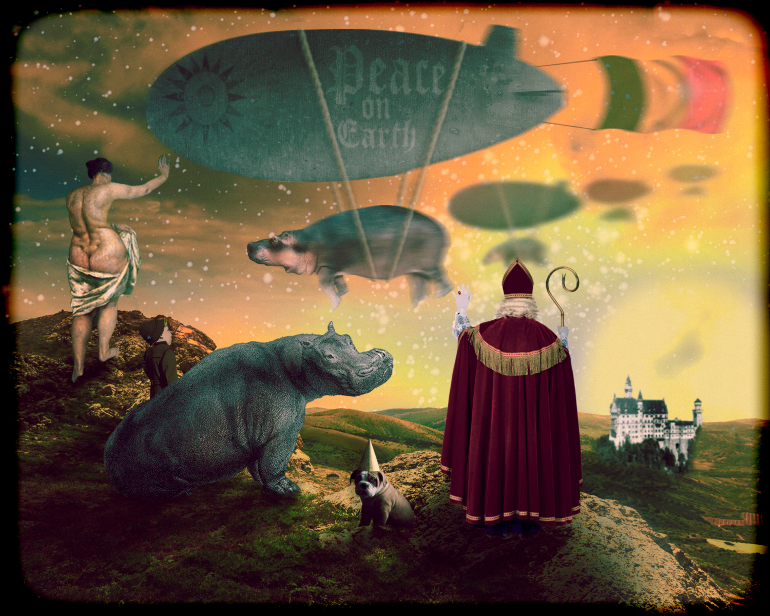 The Passing of the Hippopotoami  nathan mark phillips