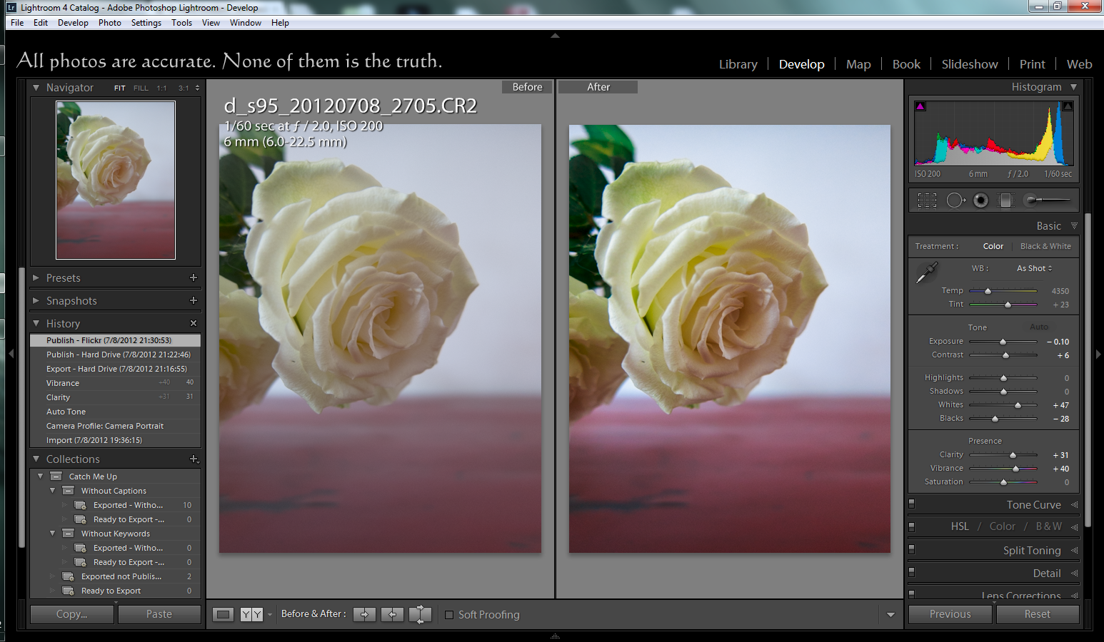 A rose with better pixels is still a rose