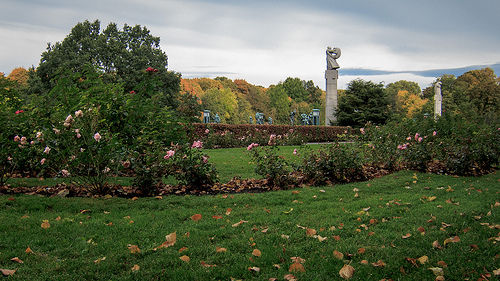Fall in Vigeland Park