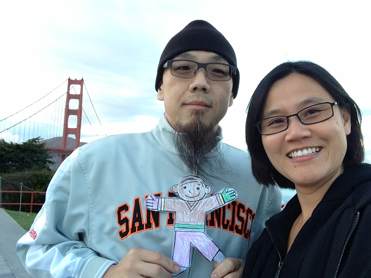 Suzette with her husband Abraham in their hometown of San Francisco