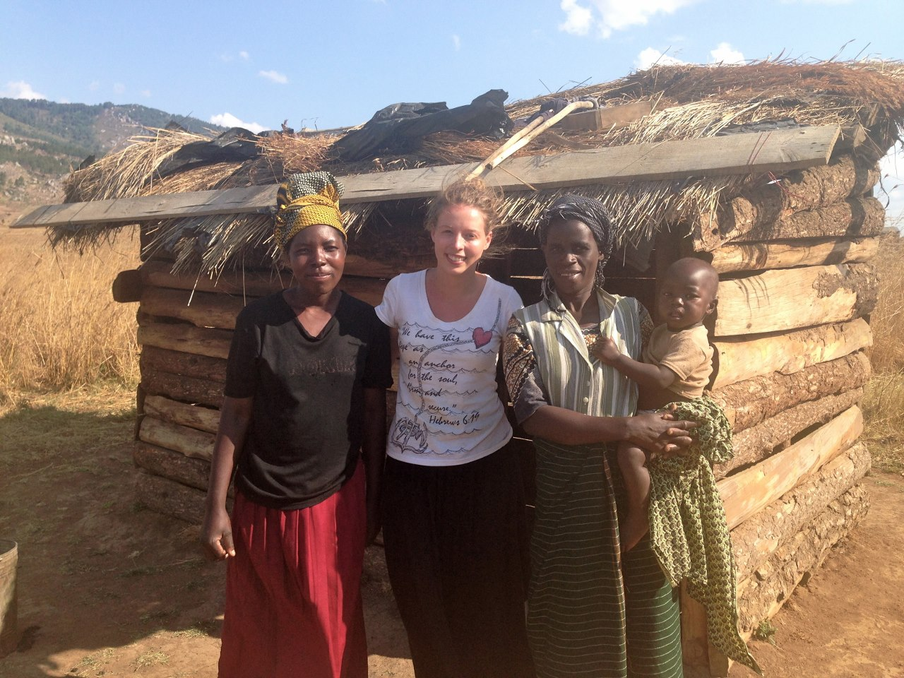 Alice in Malawi. Alice supported the Regional Support Team for Democratic Republic of Congo, Malawi and Zambia.