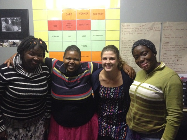 Katelyn supported our local office in South Africa as part of the Regional Support Team.
