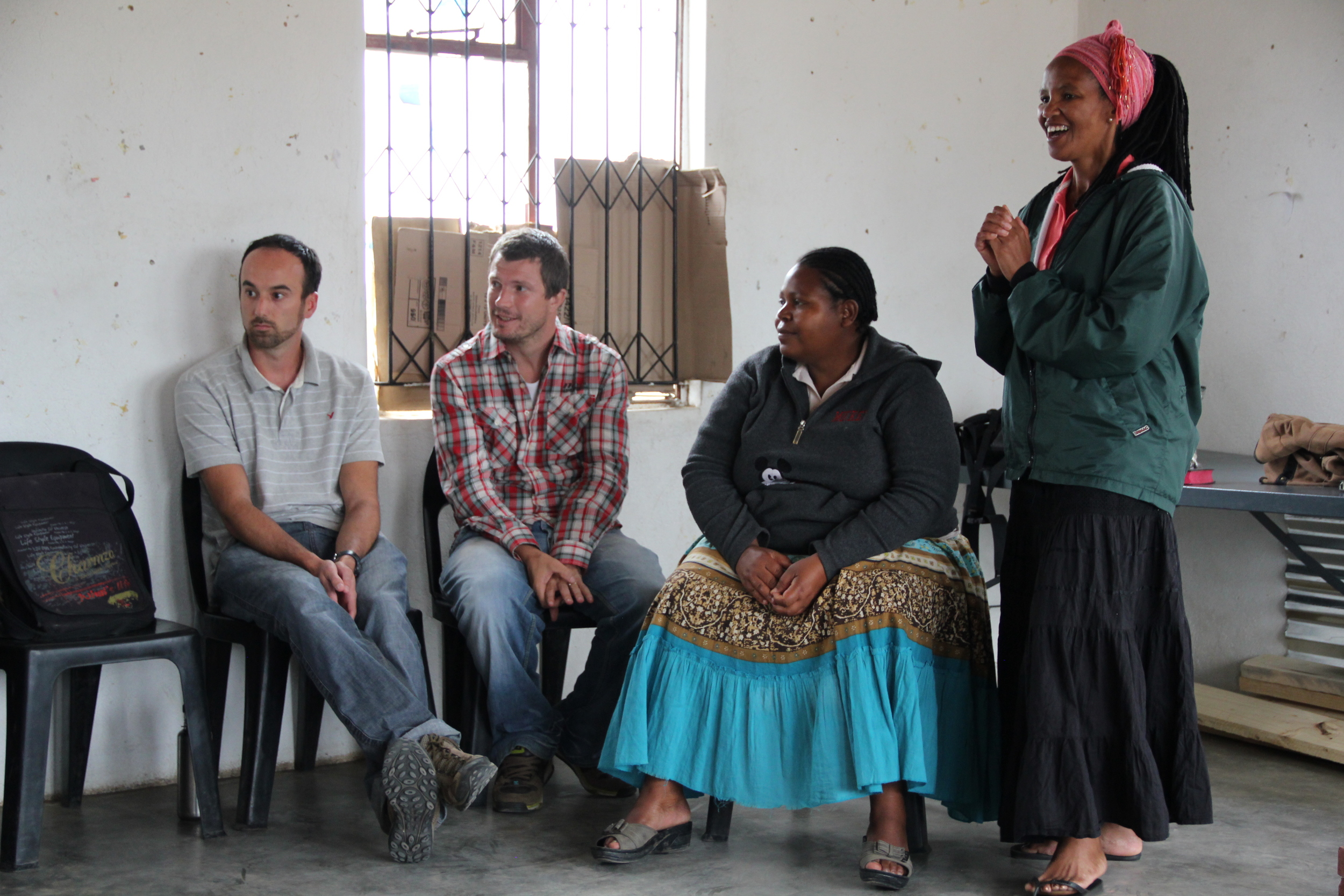 Busie with other members of the Regional Support Team: Tyler (CAN), Dan (UK) and Service Centre Coordinator, Audrey