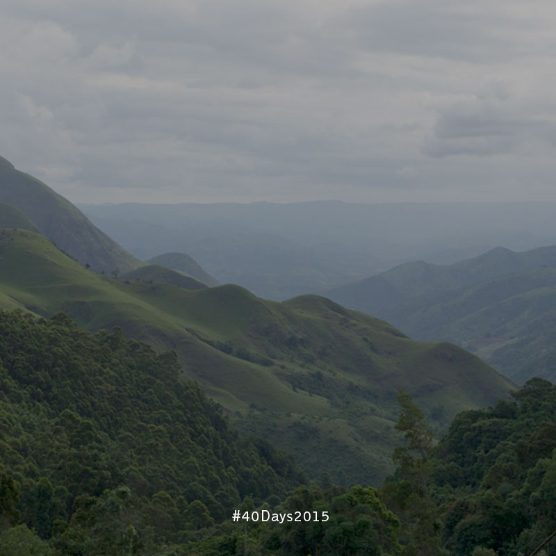 The mountains of Swaziland