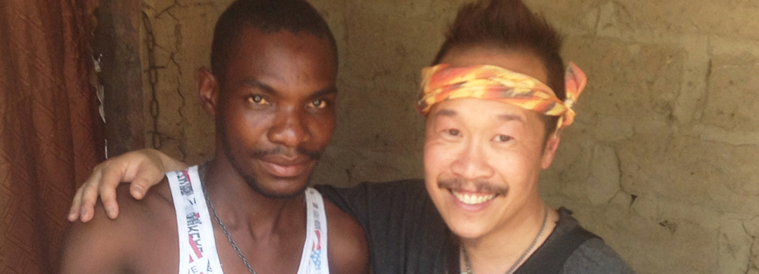 Roger met another Roger in his first Holy Home Visits in Zimba, Zambia.