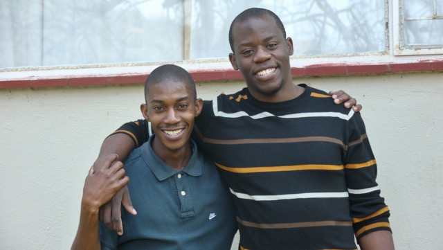 Floyd + Thulane - two young African leaders, serving their teams + communities in South Africa.