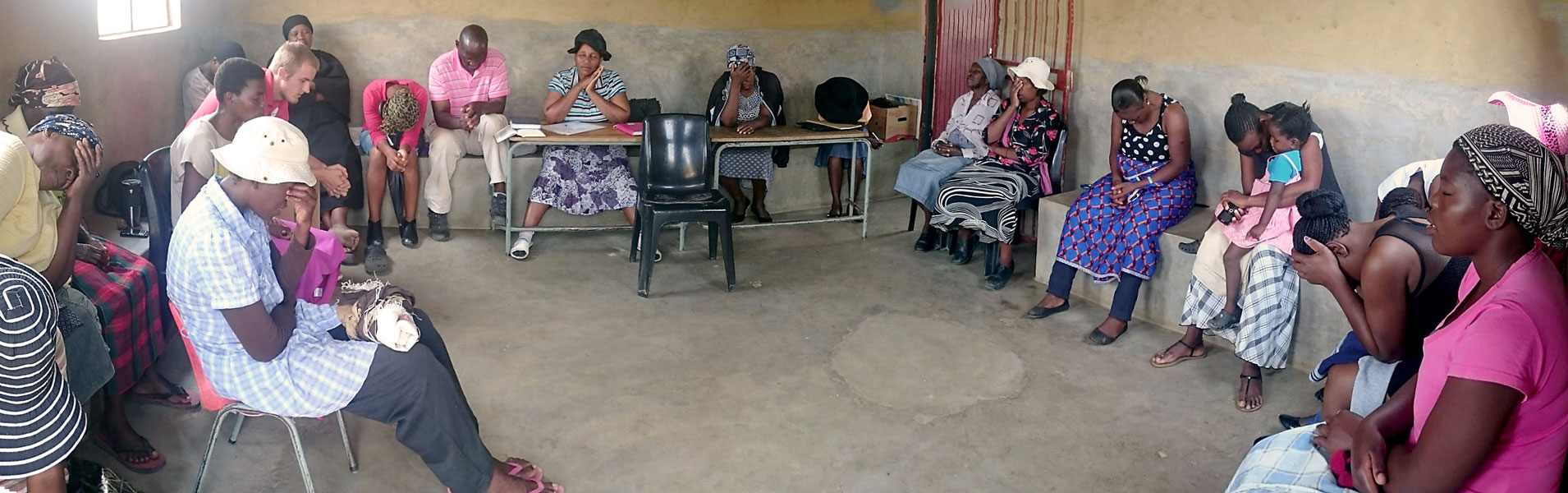 Care Workers + caregivers in Oshoek