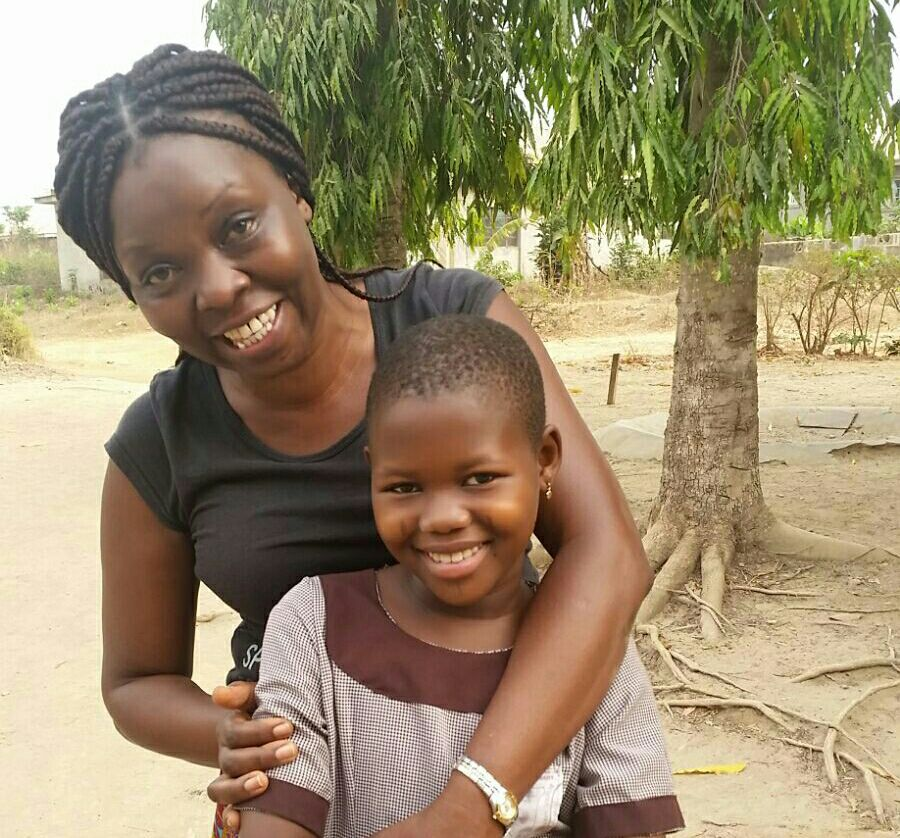 Jackie (Regional Support Team, South Africa) + Tanisha in Nigeria last week.