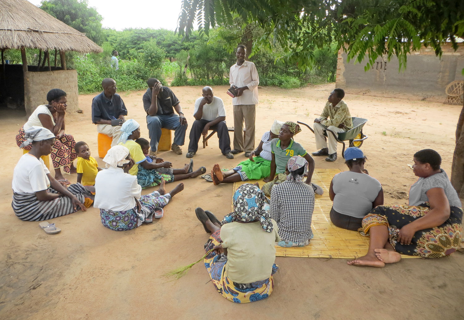 The Care Workers meet on a regular basis to pray and share the word of God together.
