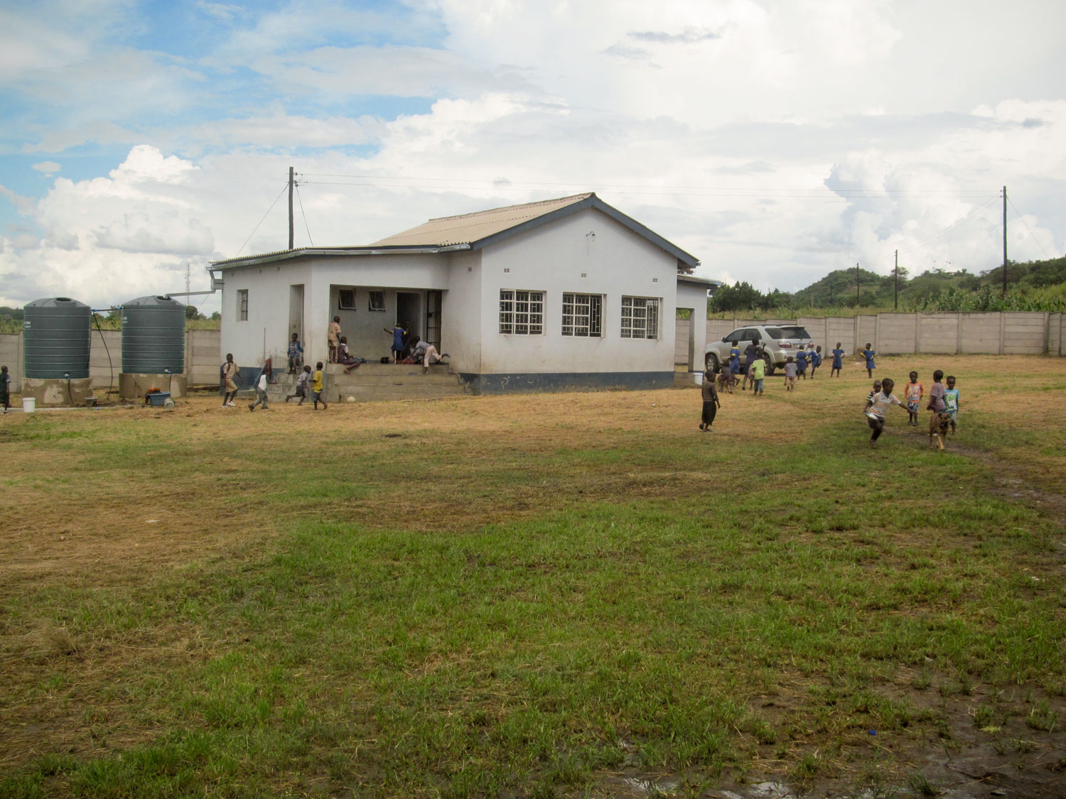 The Sakubva Life Centre is a place of safety, hope, love and play for 150 of the most vulnerable children in this community.