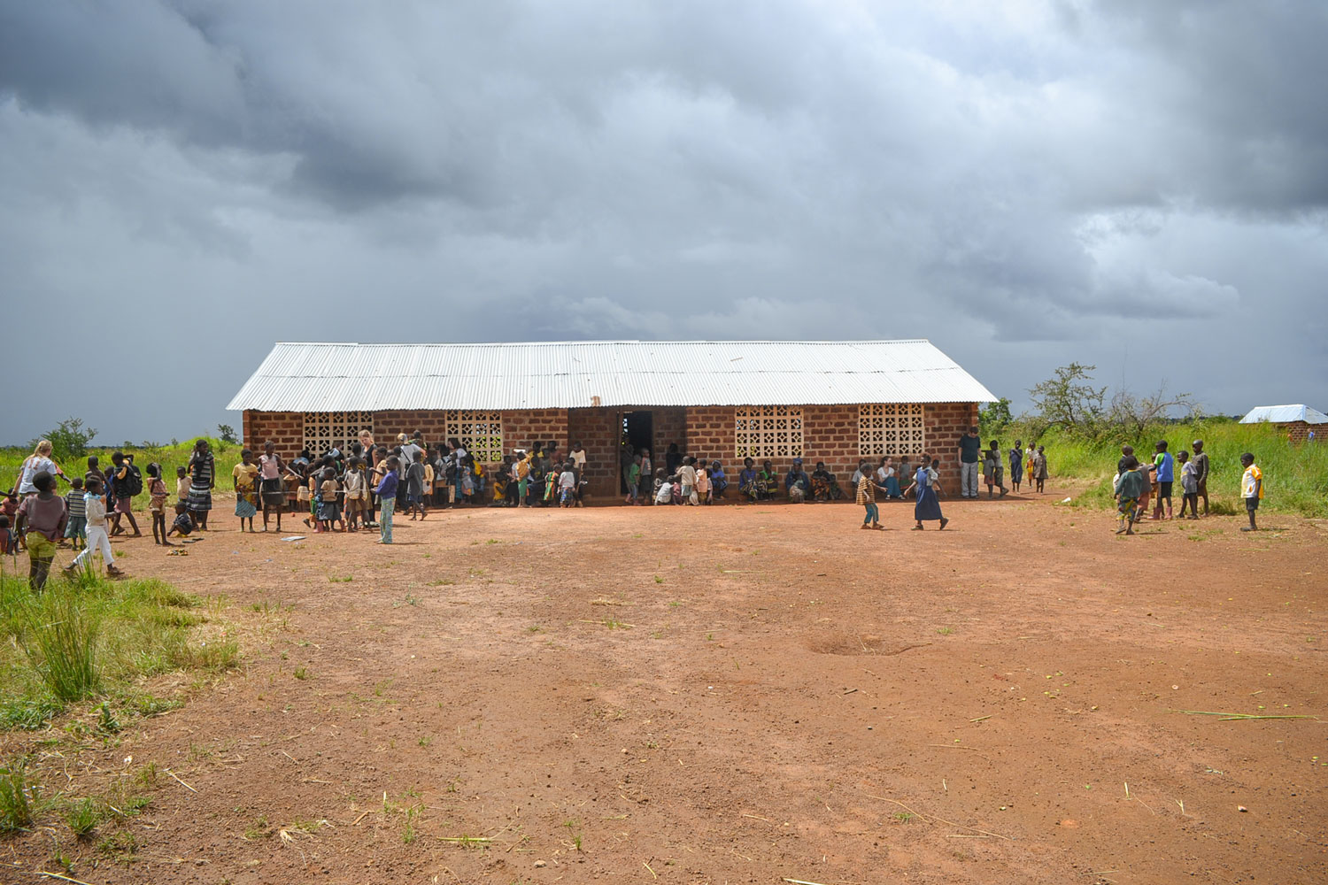 At the Maranatha Care Point, 65 of the most vulnerable children in this community receive a daily meal, access to education and access to basic health care.