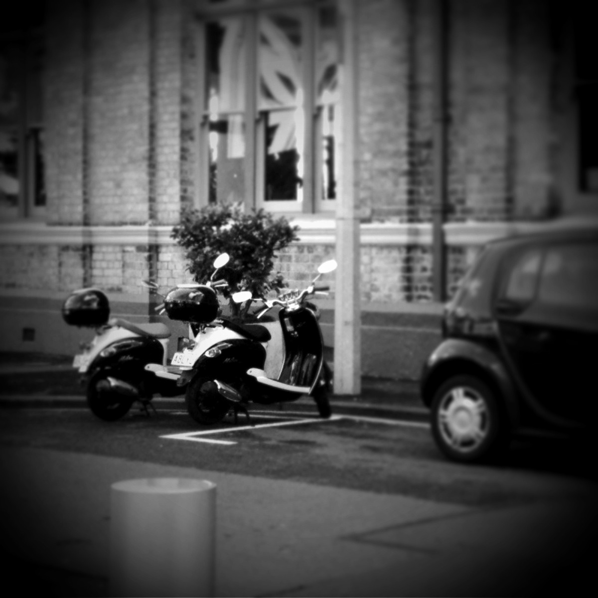 Romantic scooters