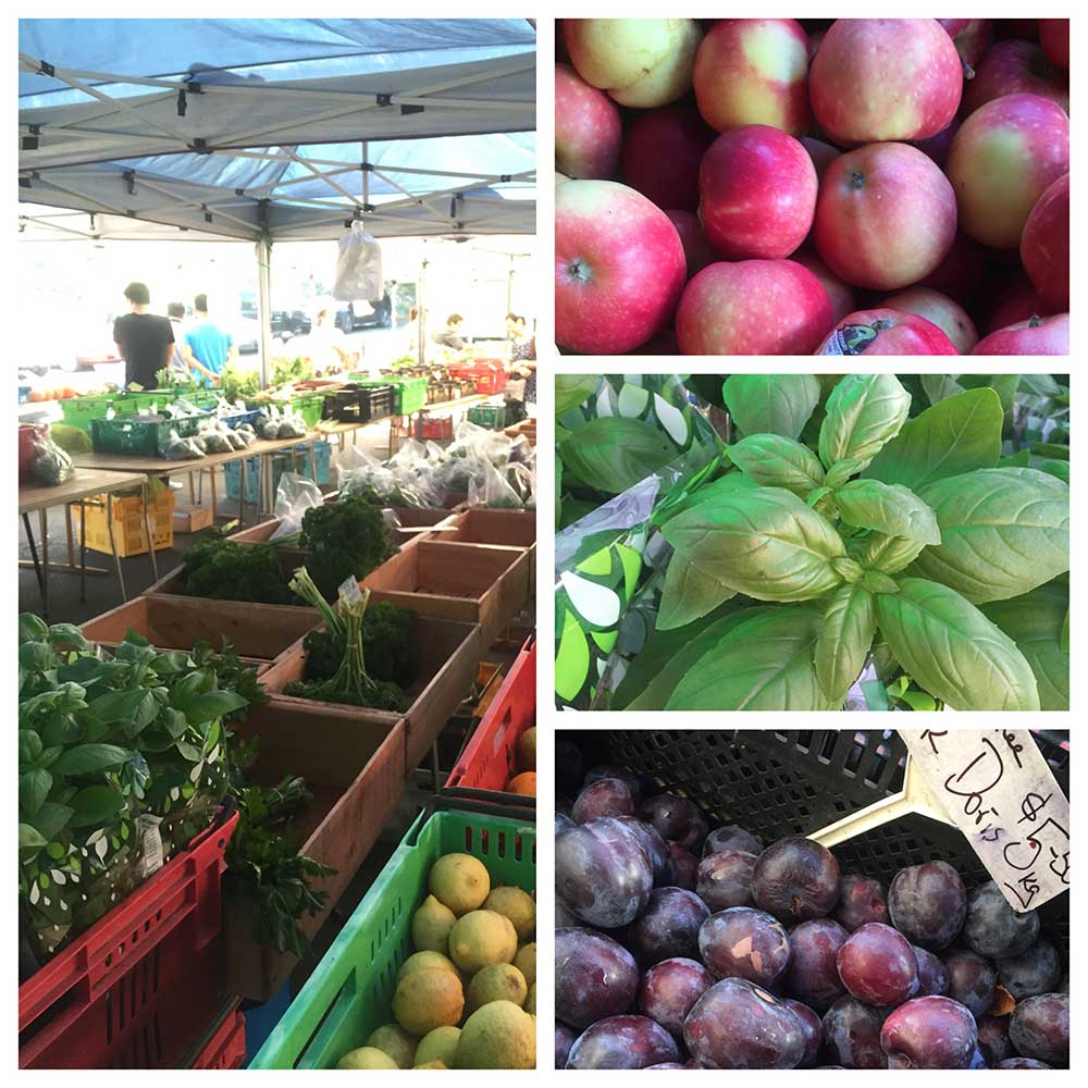 gorgeous produce at the french markets in parnell.