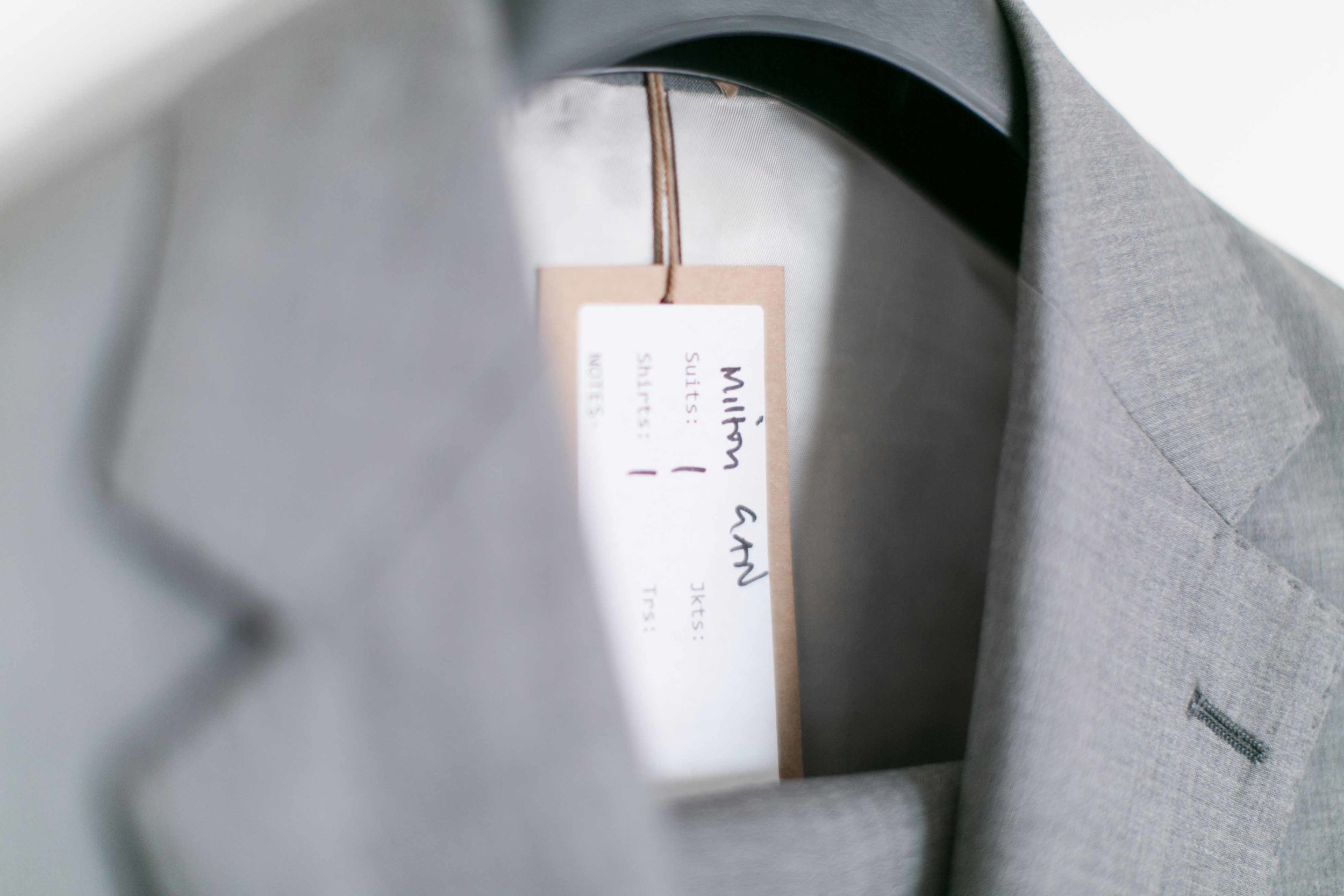 P Johnson Sydney Made To Measure Suit