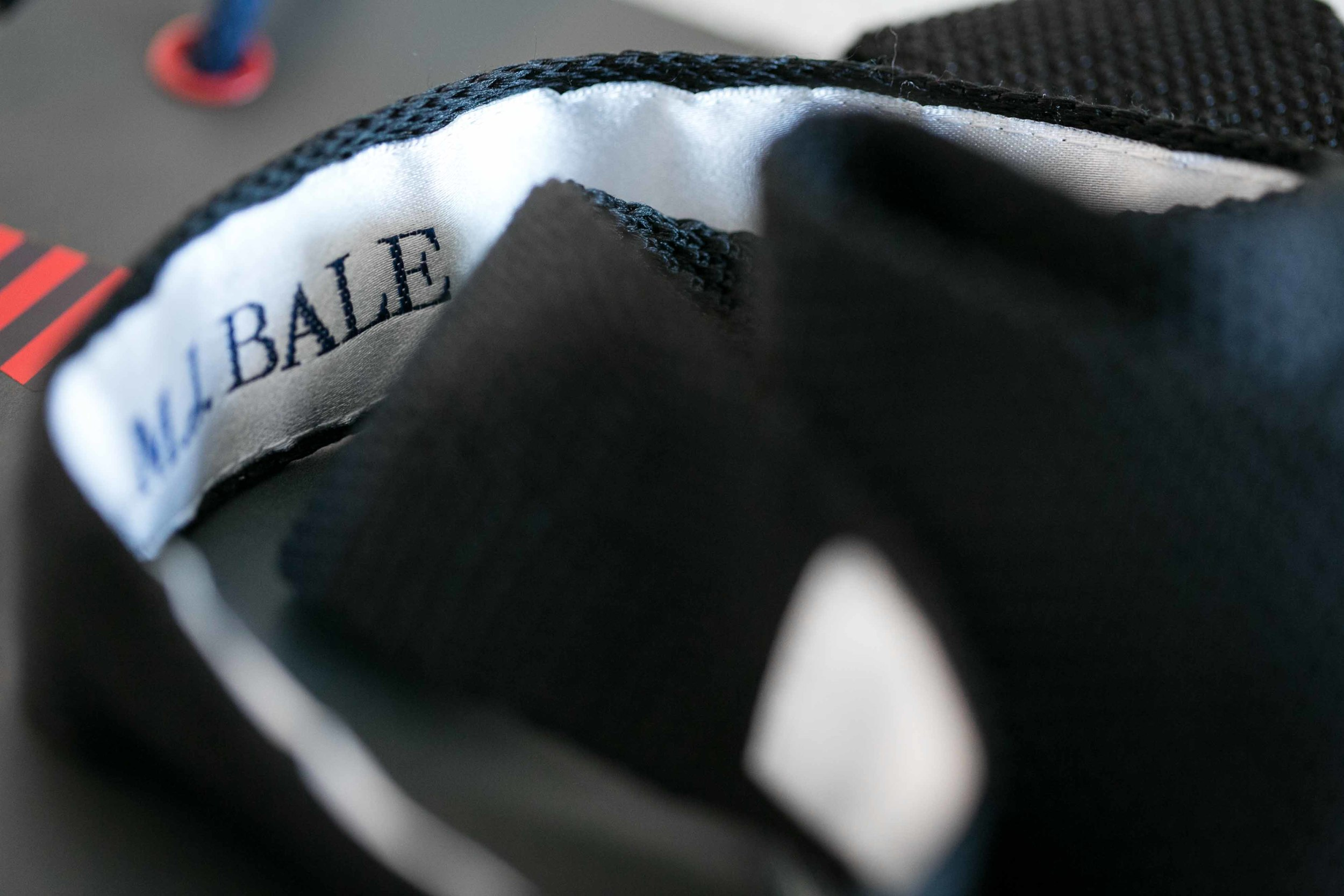 MJ Bale Knitted Silk Tie