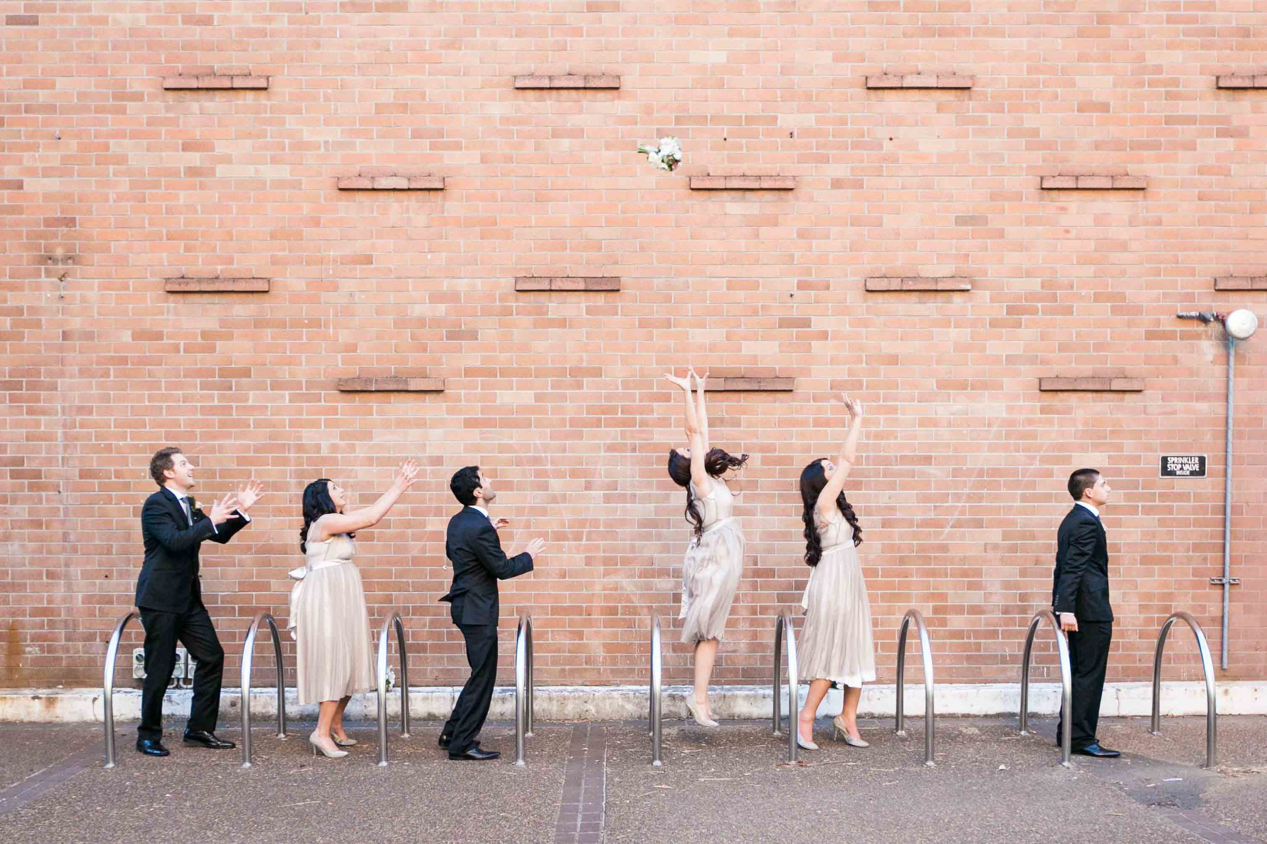 Lana and Andrew wedding Sydney University Bridal Party