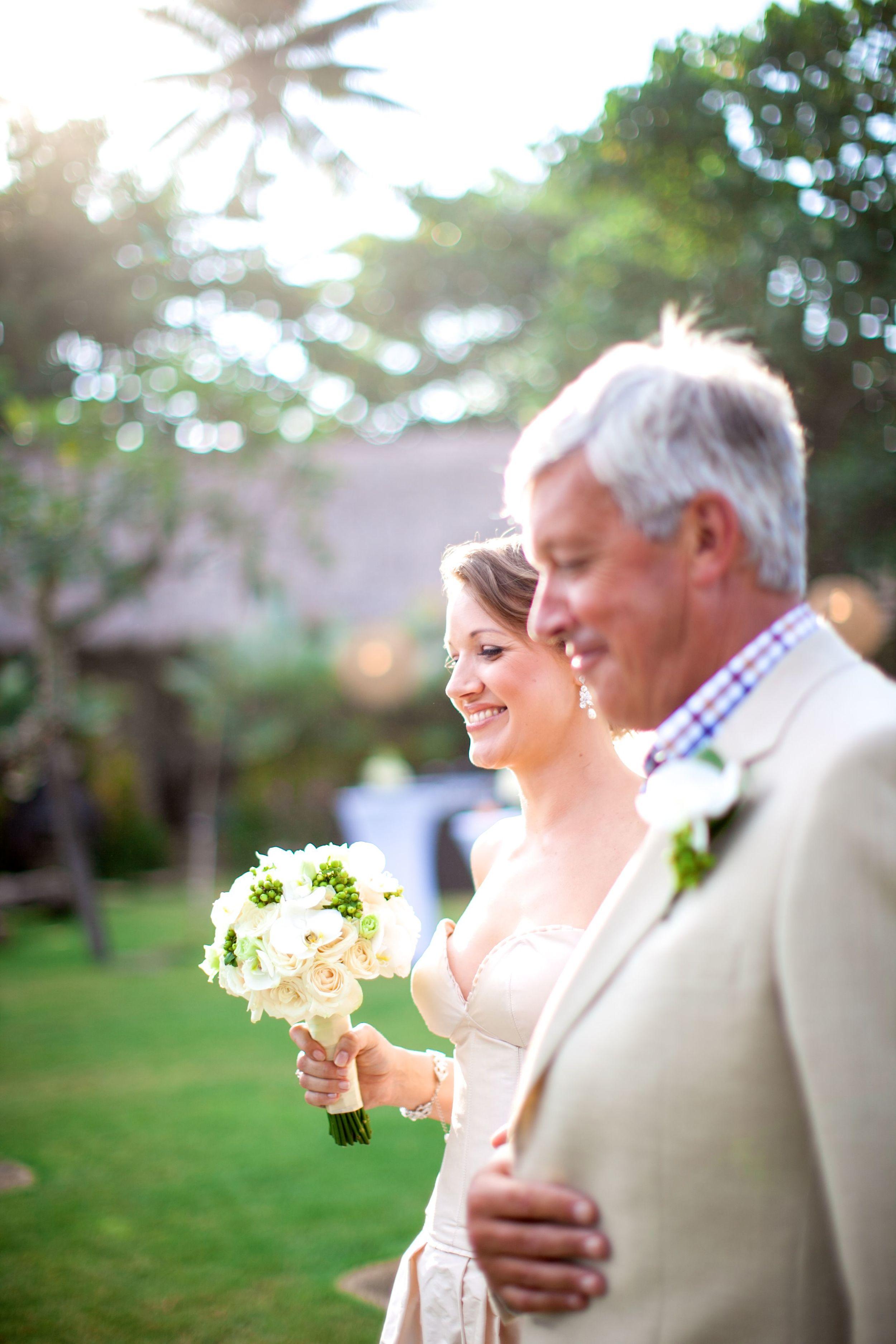 Chloe and Jay wedding Taman Ahimsa Bali Brides Entrance
