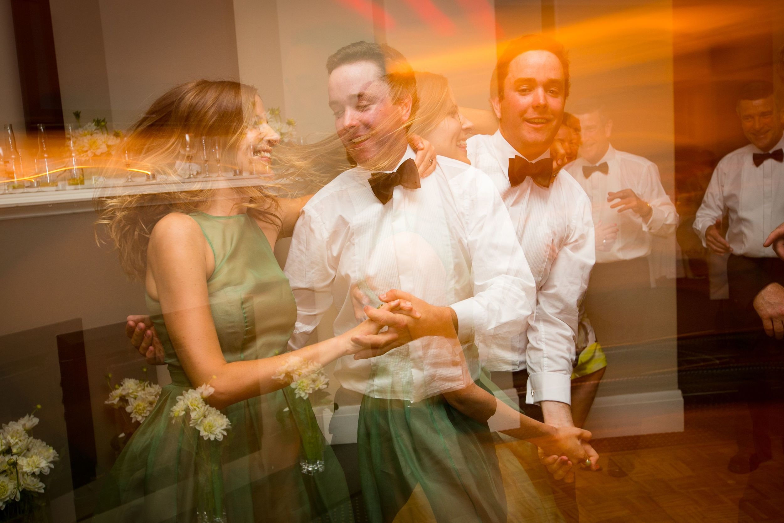 Beth and James wedding reception Watsons Bay Hotel Sydney Dancing