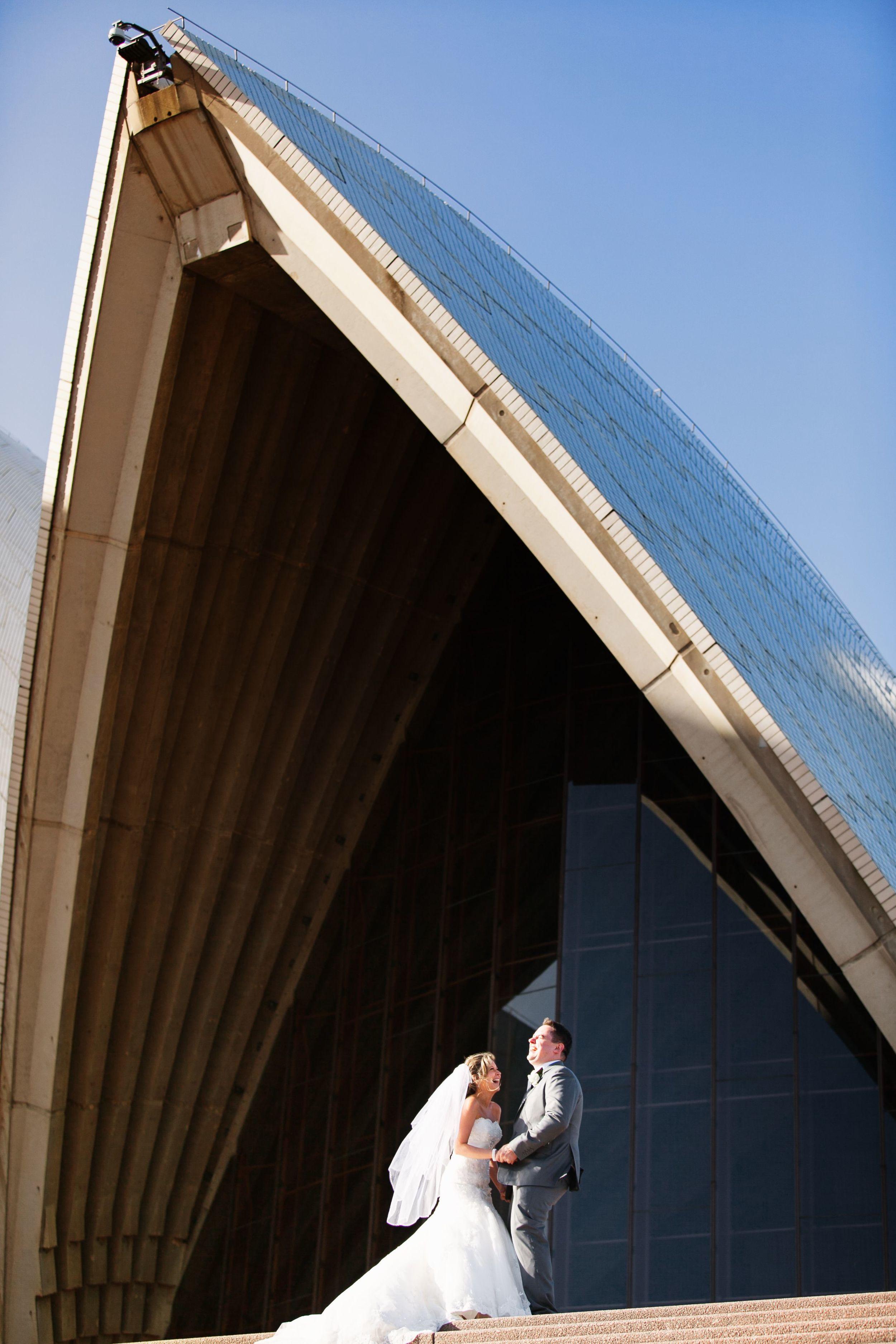Kylie and Travis wedding Sydney Opera House