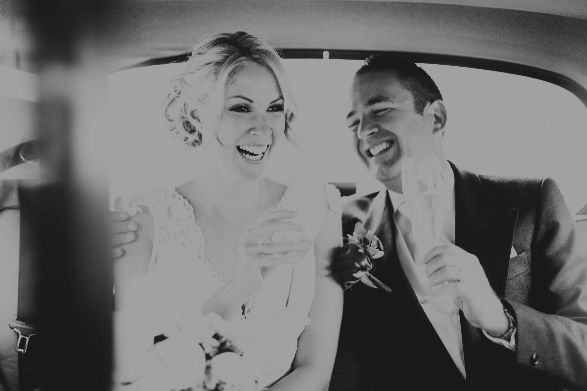 Fiona and Paul wedding Dunbar House Sydney Taxi