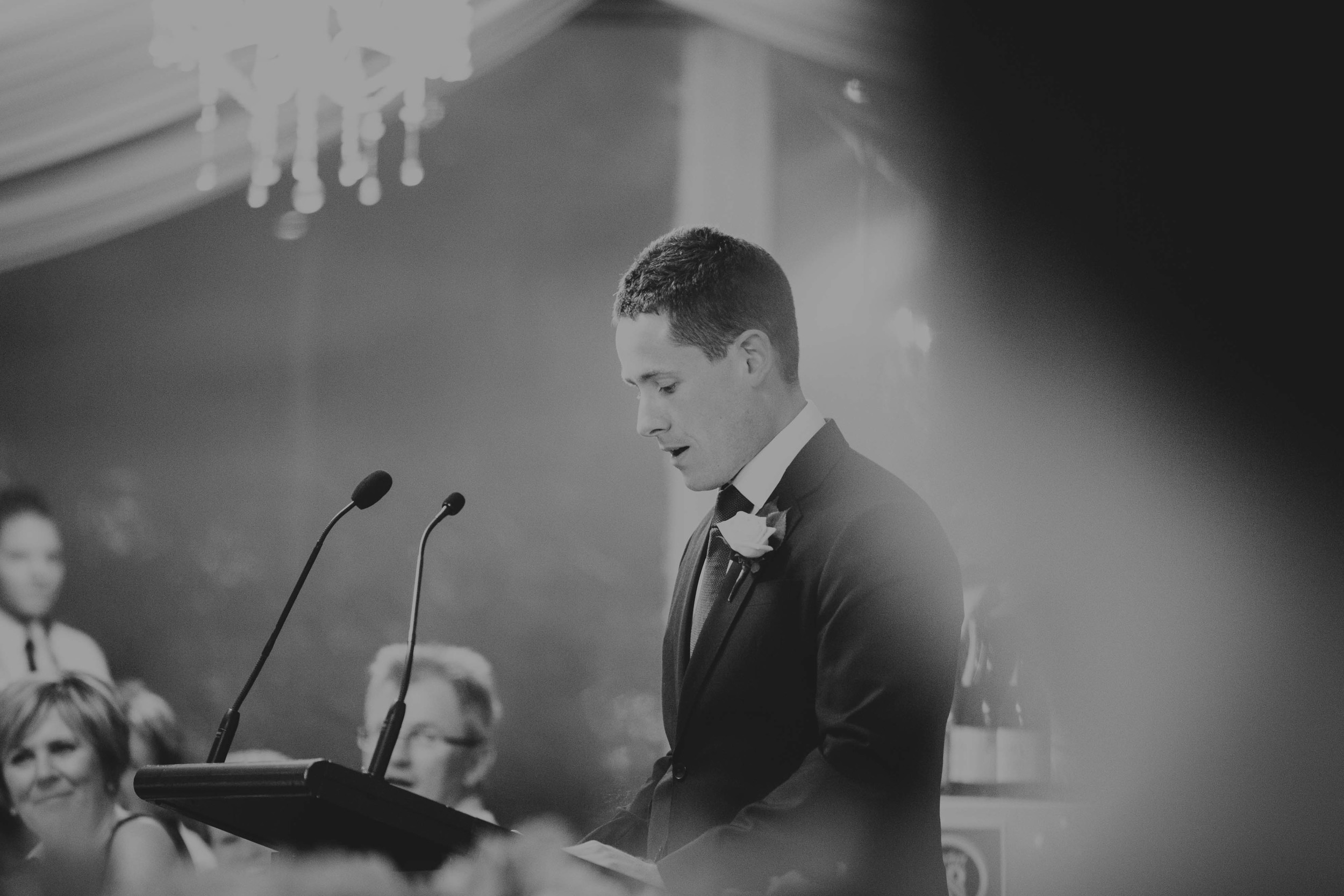 Arie and Geoff wedding reception Opera Point Marquee Sydney Speeches