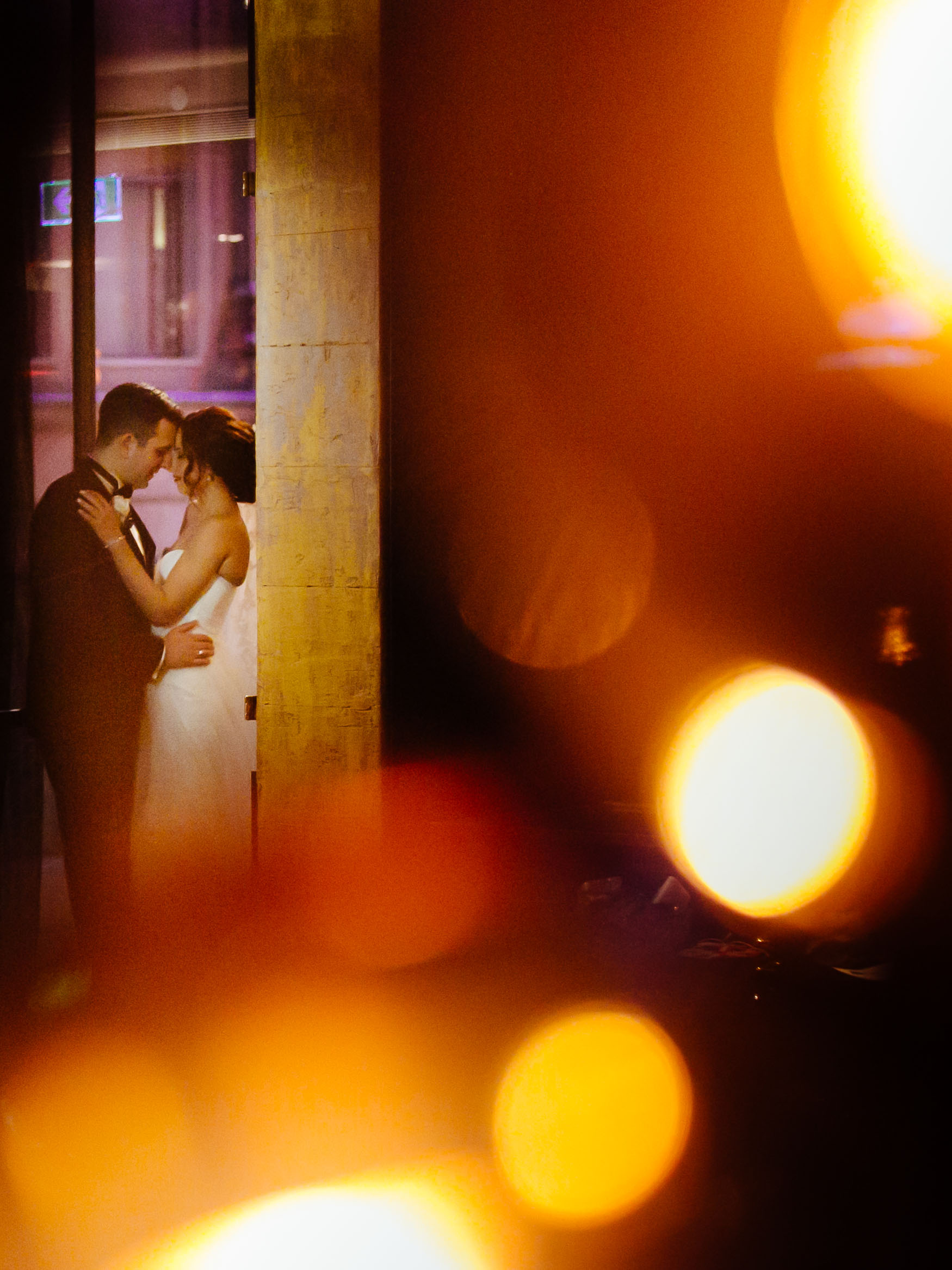 Kimberley and George wedding QT Sydney