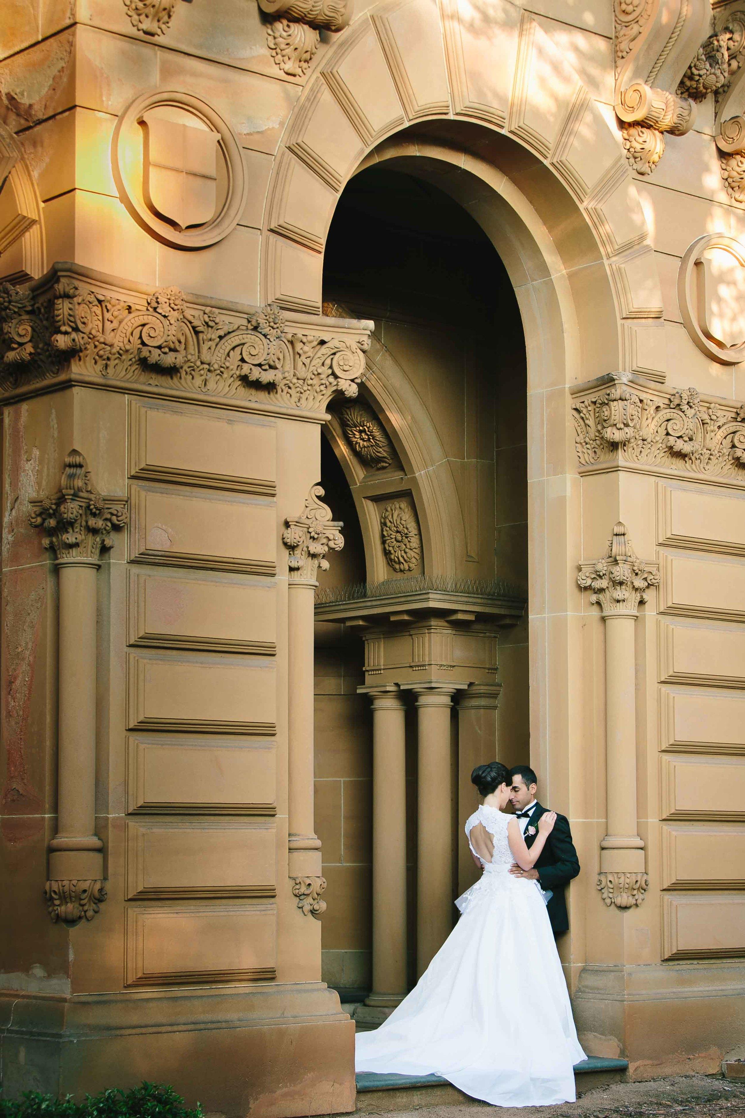 Annie and Frank wedding Santa Sabina Sydney by Milton Gan