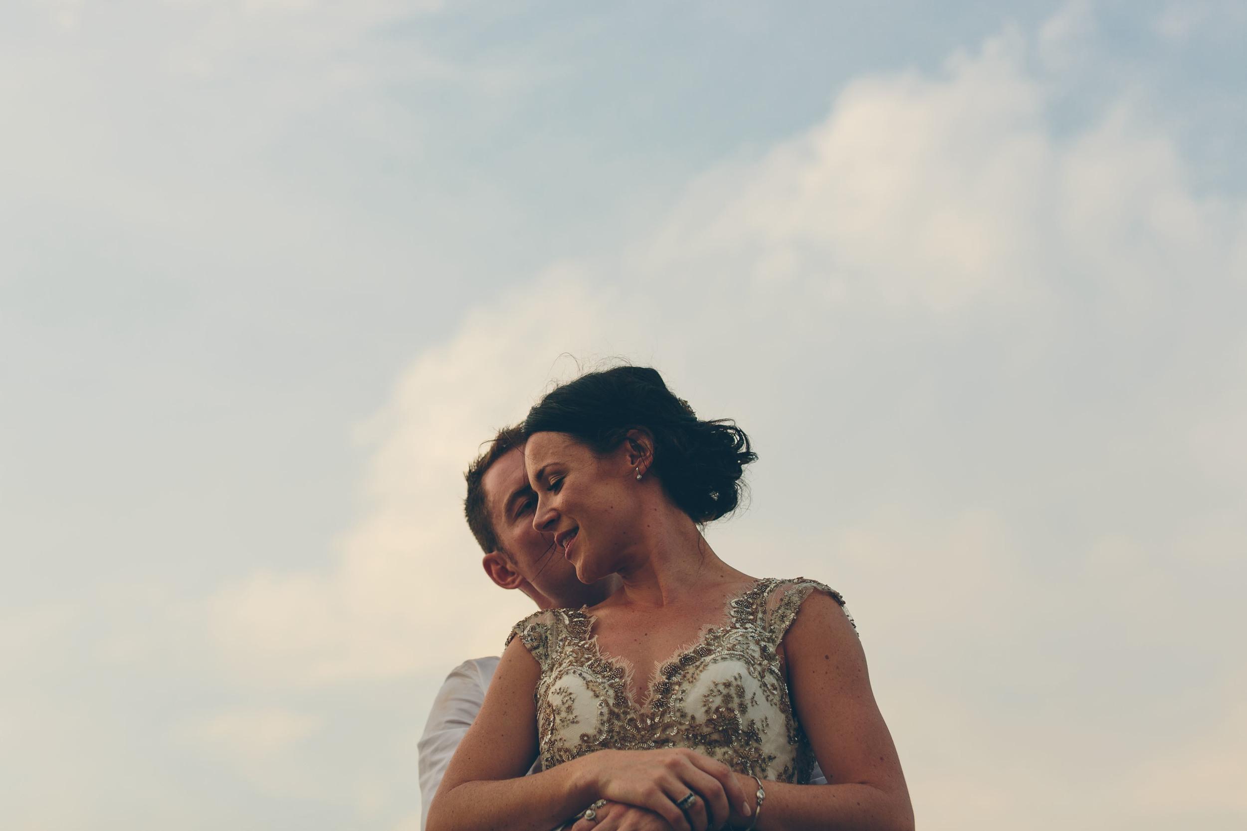 Maddy and Dan wedding Palm Beach Sydney by Milton Gan