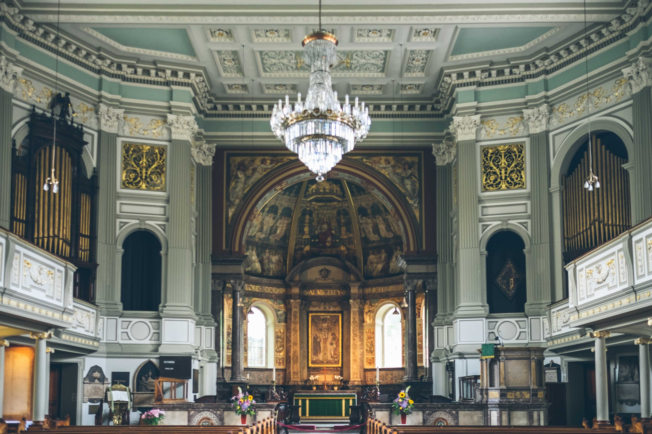 Hidden London: the gorgeous interior of St Marylebone Parish Church
