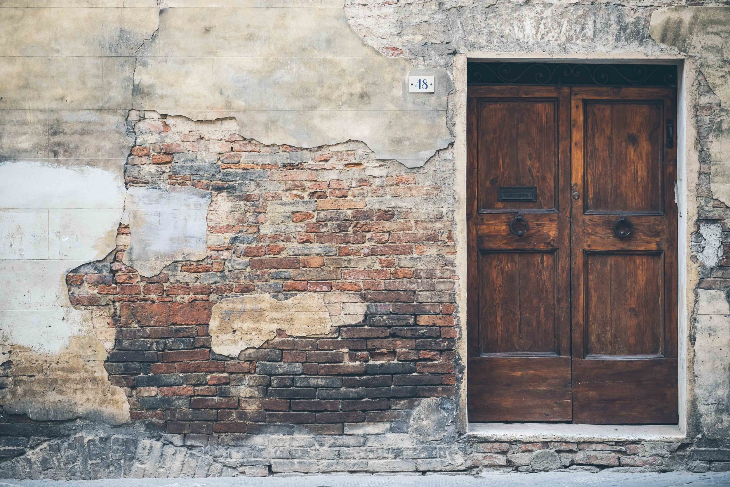 If you love doors you'll love Siena