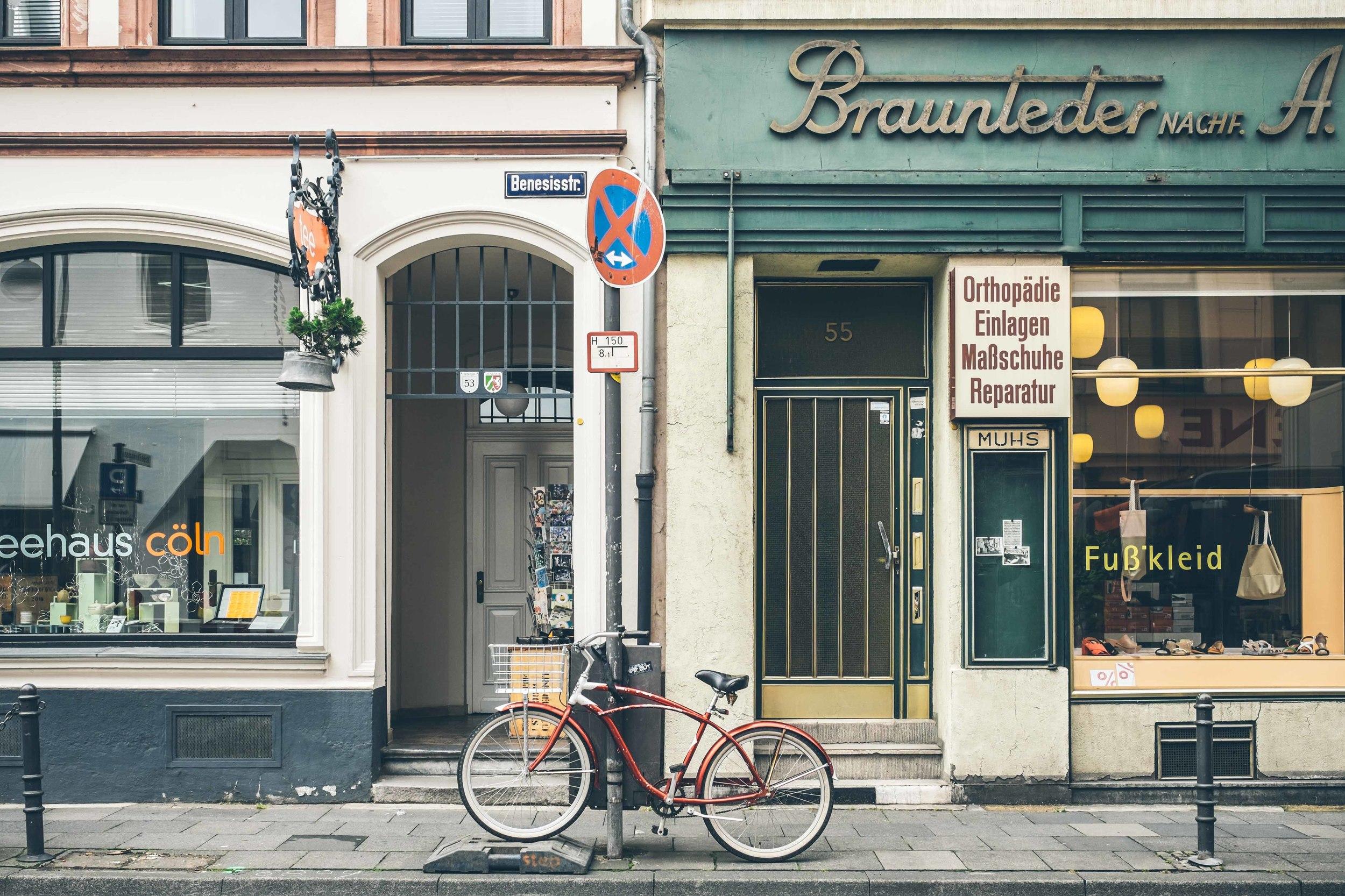 Street scene: Cologne