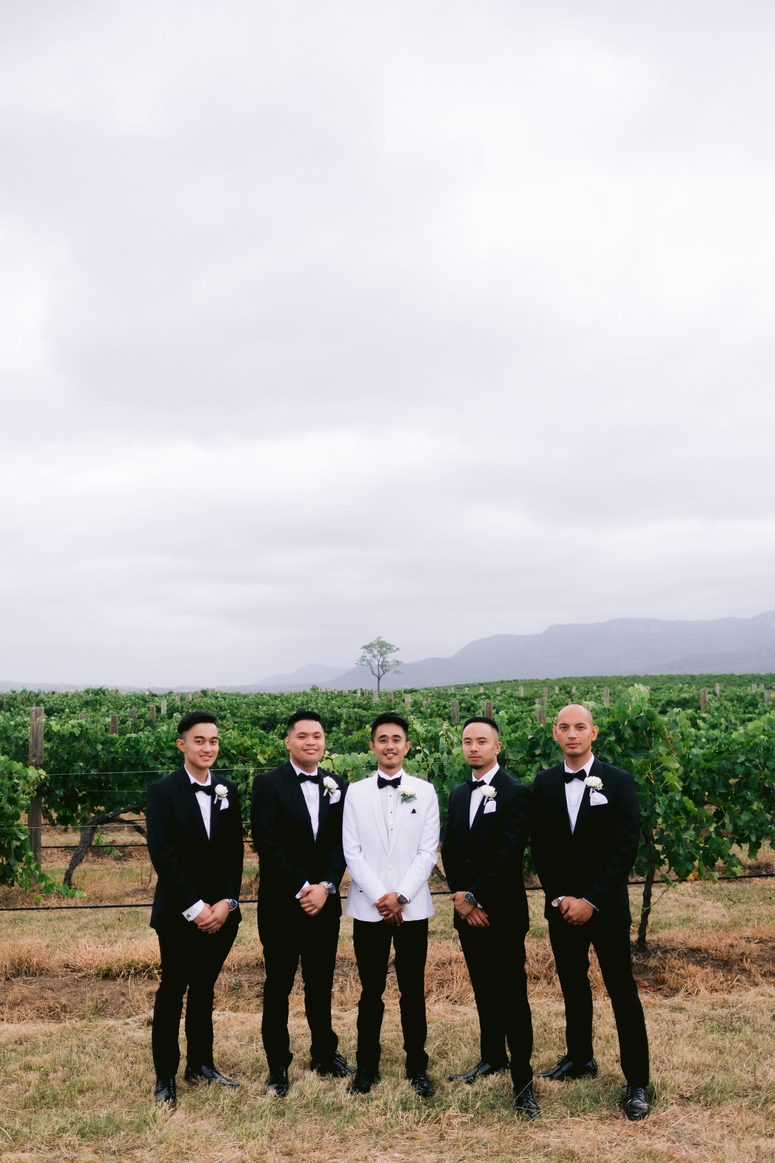 Elle and Ryan's Enzo Wedding at Ironbark Hill Vineyard, Hunter Valley by Milton Gan Photography