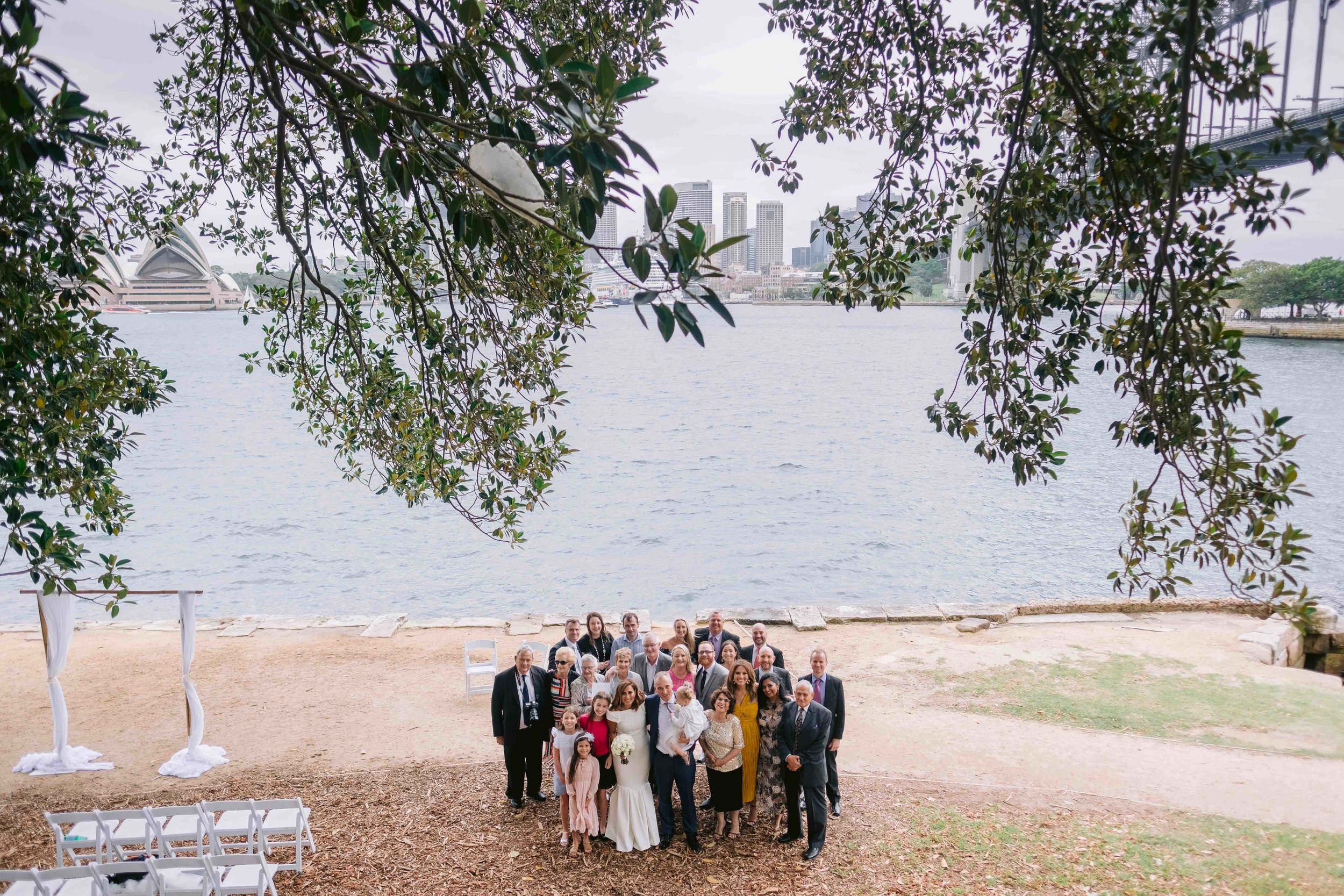 Maha and Matthew Captain Henry Waterhouse Reserve and Aqua Dining Wedding by Milton Gan Photography