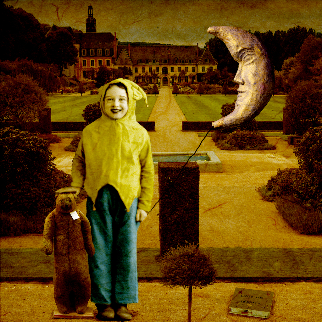 boy with moon