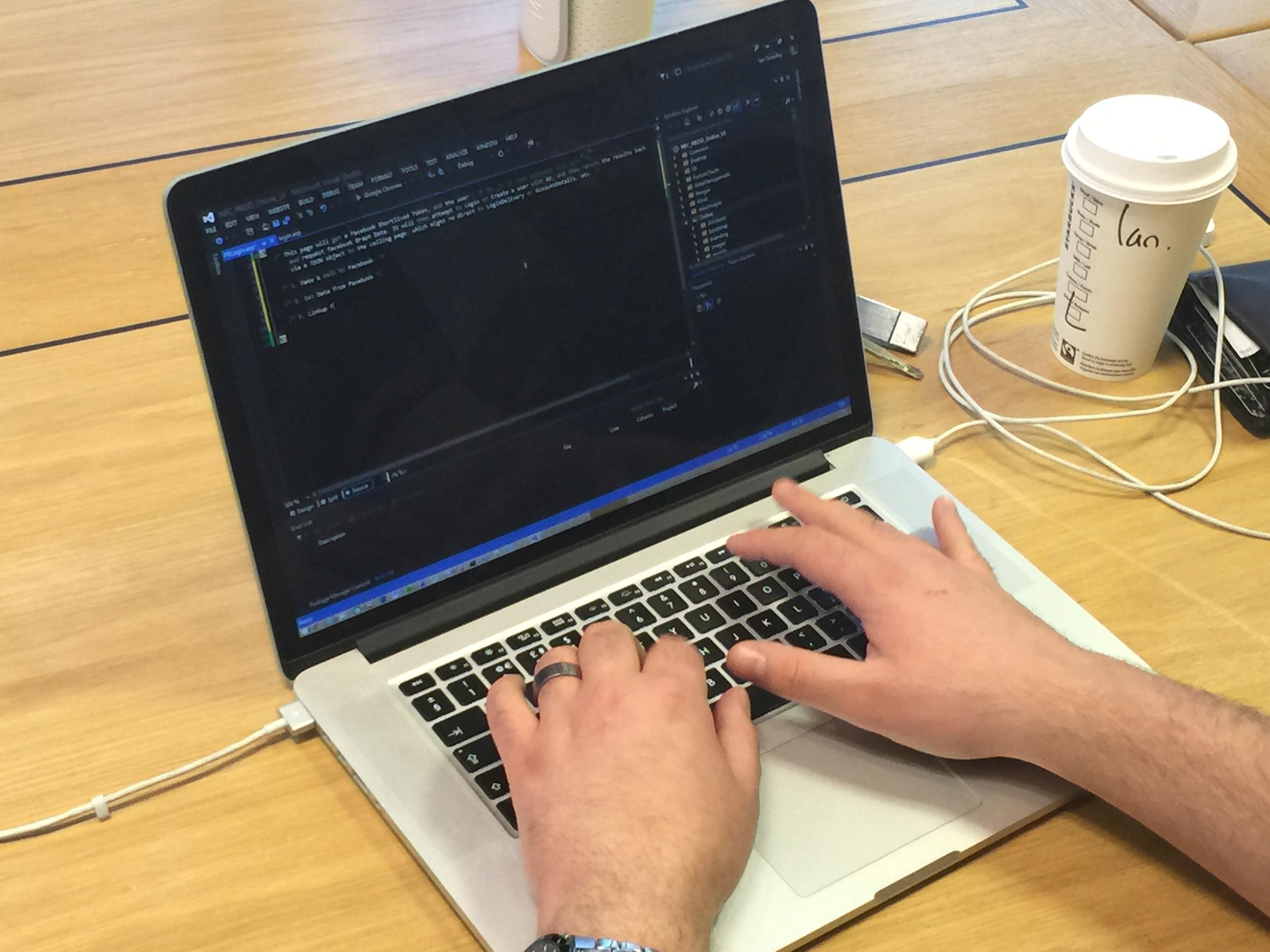 We're Coding!